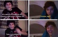 Fetus Harry and Louis skyping