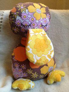 Fru Fausings Fiflerier: Soveand - har både symønstret og stof i samme stil liggende :)