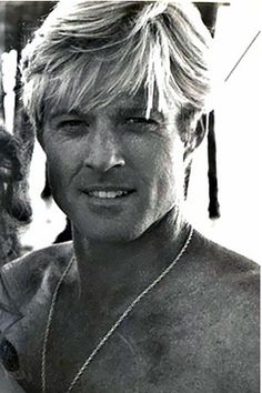 "Young Robert Redford | Robert Redford/••••By the way, he does make ""the list."""