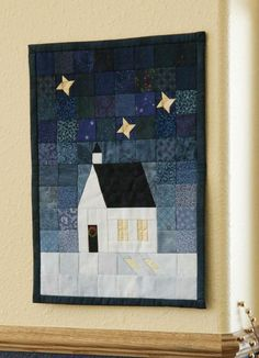 Love this one...paper pieced church