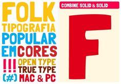 Image for Folk font