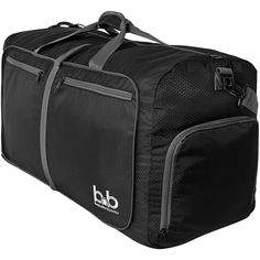 Amazon.com | BB Duffle Bag - Lightweight Duffel Bag Large - Foldable... (460 EGP) ❤ liked on Polyvore featuring men's fashion, men's bags, men's duffel bags, mens travel bag, mens luggage bag and mens travel duffle bag