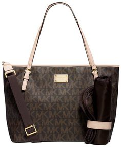 MICHAEL Michael Kors Jet Set Diaper Bag....yes please!! I would love love love this bag!! Classic and simple! No fuss and crazy designs. love.thegoodbags.com    Michael Kors Outlet !Most bags are under $61.99 !THIS OH MY GOD ~