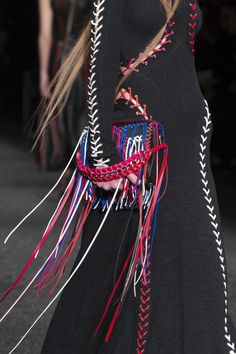 Alexander McQueen/Key Fashion Trends Fall 2017, On The Fringe The Impression