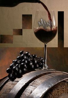 GIF by Mani Ivanov. Desserts In A Glass, Love You Gif, Pub Food, Cinemagraph, Christmas Night, Wine Making, Red Wine, Alcoholic Drinks, Happy Birthday