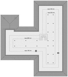 Projekt Domena 111 B 205,85 m2 - koszt budowy - EXTRADOM Bar Chart, Bar Graphs