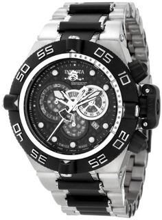 Invicta Men's 6546 Subaqua Noma IV Collection Chronograph Two-Tone Watch - http://www.sportingfests.com/invicta-mens-6546-subaqua-noma-iv-collection-chronograph-two-tone-watch/
