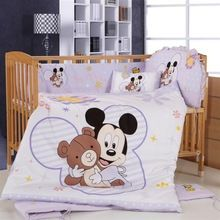 Mickey Mouse Crib Bedding Set Animals,Good New Cotton Baby Bedding Bumper Set Promotion! Mickey Mouse Crib Bedding Set Animals,Good New Cotton Baby Bedding Bumper Set Disney Baby Bedding, Baby Cot Bedding Sets, Baby Cot Sets, Baby Boy Cribs, Baby Nursery Bedding, Disney Nursery, Baby Boys, Baby Nursery Diy, Baby Nursery Themes