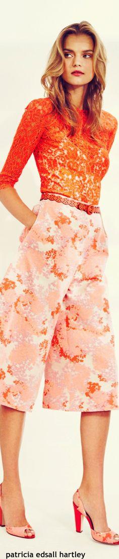 Carolina Herrera Resort-2016 women fashion outfit clothing style apparel @roressclothes closet ideas