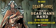 Deadlands: Dead Man's Hand on sale NOW! Check out the behind-the-scenes feature, previews and the latest reviews, then go get it! http://bit.ly/1FhArkI