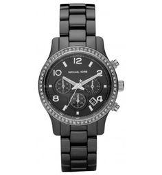 Reloj - Michael Kors Reloj Glitz Negro