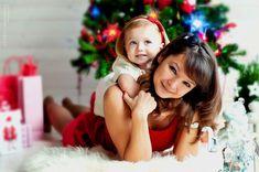 красивый портрет мамы и дочки
