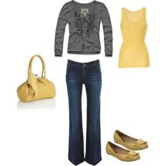 For the majority of ladies, getting a genuine designer handbag isn't something to rush into. Because these handbags can be so high priced, women sometimes worry over their decisions before making an actual ladies handbag acquisition. Mellow Yellow, Grey Yellow, Yellow Shoes, Mustard Yellow, Mustard Shoes, Yellow Outfits, Yellow Clothes, Yellow Accents, Mode Style