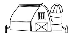 coloring pages barn   111 Best Farm Embroidery images in 2019   Coloring book ...
