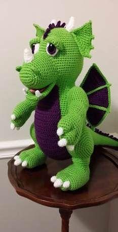 Mesmerizing Crochet an Amigurumi Rabbit Ideas. Lovely Crochet an Amigurumi Rabbit Ideas. Crochet Dragon Pattern, Crochet Amigurumi Free Patterns, Crochet Animal Patterns, Stuffed Animal Patterns, Crochet Dolls, Free Crochet, Knitting Patterns, Ravelry Crochet, Amigurumi Tutorial