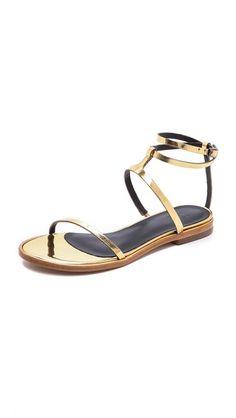 Tibi Colby Flat Sandals