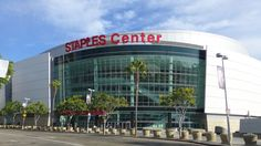 Staples Center. Downtown. Los Angeles, CA.