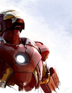 Iron Man by ~MaryRiotJane on deviantART