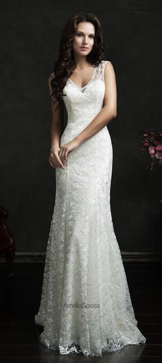Amelia Sposa 2015 Wedding Dresses - World of Bridal Latest Wedding Gowns, 2016 Wedding Dresses, Wedding Attire, Bridal Dresses, Dresses 2016, Wedding Bouquets, Amelia Sposa Wedding Dress, Sheer Wedding Dress, Perfect Wedding Dress