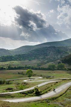 Bike touring in Albania. Photo (c) Beth Puliti. www.bethpuliti.com