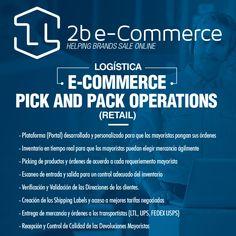 Solo en 2b e-Commerce contamos en nuestro sistema de Pick and Pack Operations ¡NO ESPERE MÁS! Contáctanos