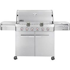 #Weber Summit S-620 Natural Gas Barbeque Grill  #BBQ #Grilling