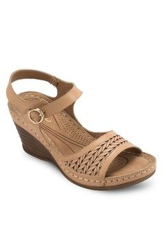 Weave Wedges from SENTINI in brown_1