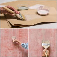 How to paint a textured wall finish with stencil supplies from Royal Design Studio