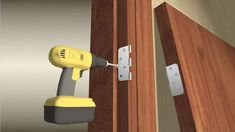 How to Install or Replace Door Hinges: 14 Steps (with Pictures) Window Hinges, Door Hinges, Window Repair, Wood Windows, Diy House Projects, Home Repairs, Old Wood, Exterior Doors, Home Remedies