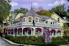 Victorian home ~ McIntosh Cottage by Thelma Winter