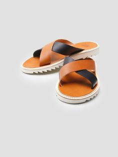 ff6ef24ca38f9 crossover bi-colored sandal. andrew gillings · Men s Shoes