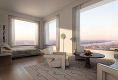 Bedroom in 432 Park Avenue penthouse