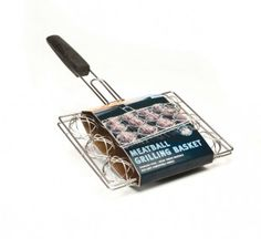 This stainless steel meatball grilling basket from Steven Raichlen holds a whopping 12 meatballs all at once. Use it to get a great sear on your meat.