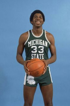 Image result for earvin johnson michigan state