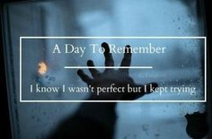 A Day To Remember | End Of Me lyrics