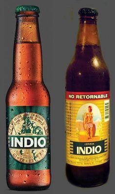 Rediseño de la cerveza mexicana Indio por la agencia Olabuenaga::Chemistri::.