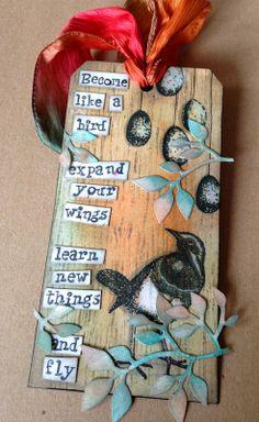 Donna's Little Crafty Corner: My second piece.....