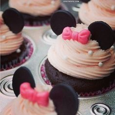 Mickie Cakes cute cupcakes mouse cakes cupcake disney party ideas girls party
