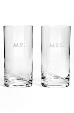 kate spade new york 'darling point' highball glasses (Set of 2) available at #Nordstrom