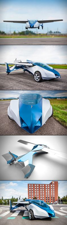 Drumroll, please. OK, you've wondered about it, wished for it, and whined about not having it for years, but now it's here… the flying car! Are there a few catches, sure, it's still in the prototype stage, but come on, it's a flying car—the Aeromobil Flying Car, to be exact.