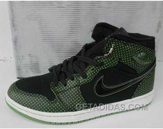 42577131fff7 Air Jordan 1 Green Dots Black Authentique