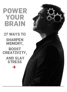 Power your brain! 27 ways to sharpen memory, boost productivity and slay stress.