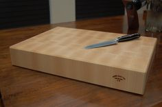 Large Maple End Grain Cutting Board