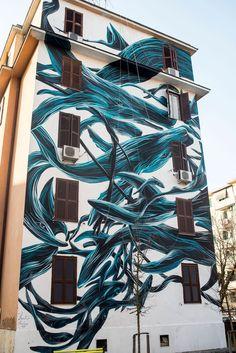 StreetArtRoma: Il Ponentino   Pantonio   2015   Zona: Tor Marancia   #art #streetart #roma
