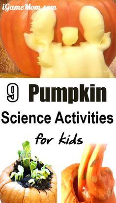9 Pumpkin Science Activities for Kids