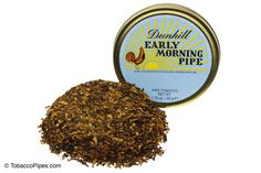 TobaccoPipes.com - Dunhill Early Morning Pipe Tobacco Tin, $13.60 (http://www.tobaccopipes.com/dunhill-early-morning-pipe-tobacco-tin/)
