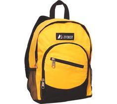 Everest Junior Slant Backpack (Set of 2) - Yellow/Black - Free Shipping & Return Shipping - Shoebuy.com
