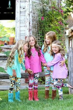 Printed leggings for kids, Fall outfit for kids