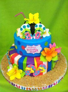 summer cakes fondant - Buscar con Google