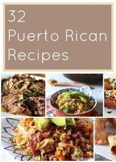 35 Puerto Rican reciepes